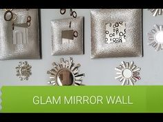DIY MIRRORED Gallery Wall - YouTube