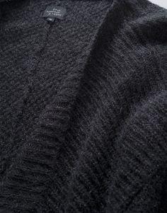 Feine Strickjacke mit Mohair: Dorlene black / OPUS Fashion