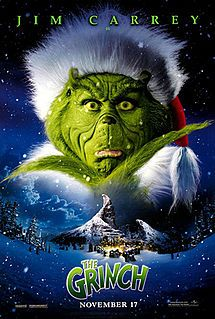 How the Grinch Stole Christmas- The classic movie will always be just that but Jim Carry did an awsome job in this movie!