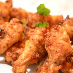 Crispy+Spicy Ovenbaked Chicken Wings - a Paleo Recipe on chowstalker