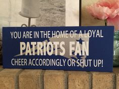 GO PATS!! Do your job! Let your company know you are a New England fan and how to act accordingly during game day! Brady is free lets get