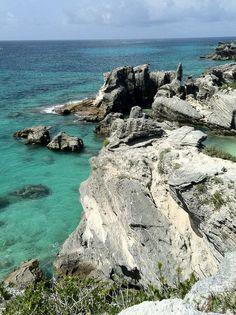 Horseshoe Bay Cliff, Bermuda - by @Mark Van Der Voort Van Der Voort Schulte