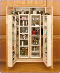 Brown Color You Can Become a Great Pantry Organizers Design Ideas