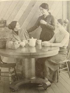 ladies tea time