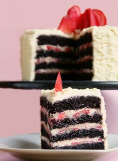 Fudge, Food Inspiration, Diy And Crafts, Strawberry, Food And Drink, Birthday Cake, Favorite Recipes, Sweets, Candy