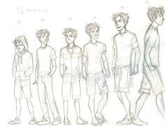 Percy Jackson Through The Years