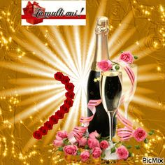 See the PicMix la multi ani belonging to on PicMix. La Multi Ani Gif, Beautiful Roses, Happy Birthday, Christmas Ornaments, Holiday Decor, Simple, Creative, Bling, Pictures