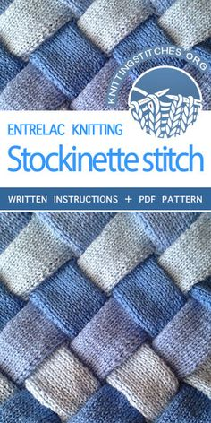 Knittingstitches Org -- Entrelac Knitting Tutorial And Pattern Knittingtutorials , knittingstitches org - entrelac knitting tutorial und pattern knittingtutorials , knittingstitches org - tutoriel de tricotage entrelac et tutoriels de tricotage Knitting Blogs, Knitting For Beginners, Baby Knitting Patterns, Knitting Designs, Knitting Stitches, Hand Knitting, Tricot Entrelac, Knit Basket, Stockinette