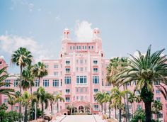 The Don Cesar Beach Hotel: Its like getting married at Barbie's Dream house!  Photos:  Justin Demutiis Photography