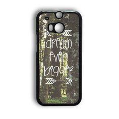Inspirational Woodland Quote Big Dream HTC One M9 Case