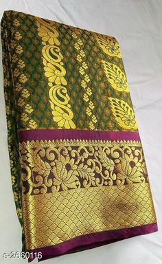 Banarsi Saree, Handloom Saree, Katan Saree, Latest Silk Sarees, Bridal Silk Saree, Indian Jewelry Sets, Designs For Dresses, Saree Styles, Printed Sarees