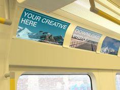 Public transport #advertising #mockups http://pitchstock.com/stock-tag/public-transport/