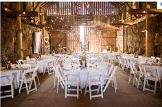 Wedding Barn, Farm Wedding Reception :)