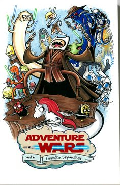 STAR WARS and ADVENTURE TIME Mashup Art