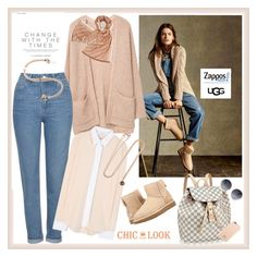 """""""The Icon Perfected: UGG Classic II Contest Entry♥♥♥"""" by marthalux ❤ liked on Polyvore featuring MANGO, Topshop, Victoria Beckham, Tory Burch, Aamaya by Priyanka, Dolce&Gabbana, UGG Australia, ugg and contestentry"""