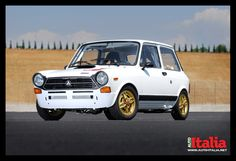 Autobianchi Abarth A112 - what an amazing little car, not as pretty as I remember it