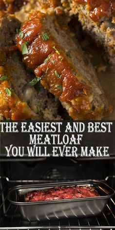 Best Easy Meatloaf Recipe, Classic Meatloaf Recipe, Meat Loaf Recipe Easy, Best Meatloaf, How To Make Meatloaf, Healthy Meatloaf, Turkey Meatloaf, Favorite Meatloaf Recipe, Healthy Foods
