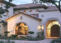 Spanish style home.