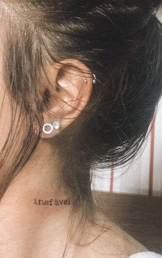 These beautiful earrings are minimalist and elegant. I form these earrings from a rounded, smooth bar and solder a hammered circle in the middle. Tribal Tattoos, Tattoos Skull, Tatoos, Statement Earrings, Stud Earrings, Delicate Tattoo, Body Modifications, Beautiful Earrings, Small Tattoos