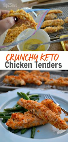 These Crunchy Keto Chicken Tenders are Kid-Approved!