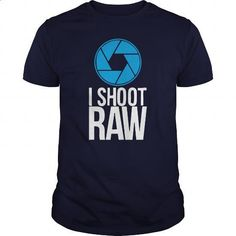 I Shoot Raw Great Gift For Any Photographer - #food gift #shirts. BUY NOW => https://www.sunfrog.com/Jobs/I-Shoot-Raw-Great-Gift-For-Any-Photographer-Navy-Blue-Guys.html?60505