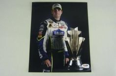 Signed Jimmie Johnson Picture - 8x10 - PSA/DNA Certified - Autographed NASCAR Photos by Sports Memorabilia. $116.20. JIMMIE JOHNSON NASCAR SIGNED AUTHENTIC 8X10 PHOTO PSA