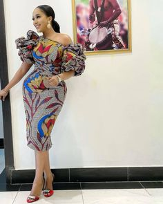 African Party Dresses, African Lace Dresses, Latest African Fashion Dresses, African Dresses For Women, African Print Fashion, African Attire, African Outfits, African Women, Ankara Gown Styles