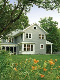 Historic Farm House contemporary exterior