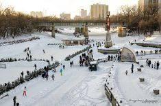 The River Trail at The Forks in Winnipeg, Manitoba, Canada. Photo by Krypton Photography Winnipeg, via Flickr