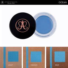 Waterproof Crème Color Ocean skin swatch. #AnastasiaBeverlyHills