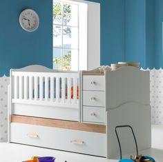 Πολυμορφική Κούνια Aegean 5469 Cribs, Toddler Bed, Rooms, Baby, Furniture, Home Decor, Cots, Child Bed, Bedrooms