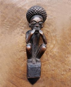 Luba, Democratic Republic of Congo Wood Field Collected in Congo Previously in the collection of a Romanian Engineer posted in Zambia, previous Rhodeshia. African Sculptures, Art Auction, Tribal Art, Congo, African Art, Black Art, Witchcraft, Statue, Museum