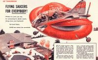 'Flying Saucers for Everybody!', 1957