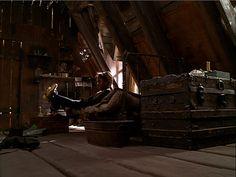 A Little Princess directed by Alfonso Cuaron, starring Liesel Matthews. Production Designer Bob Welch, Art Director Tom Duffield, Set Decorator Cheryl Carasik