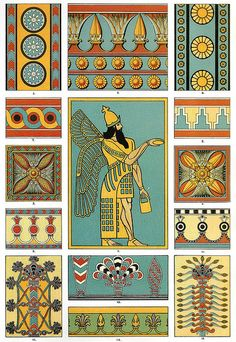 Patterns from Assyrian Paintings
