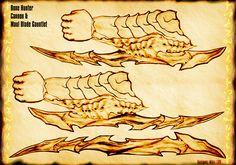 Bone Hunter Maul Gauntlet by Uratz-Studios.deviantart.com on @DeviantArt