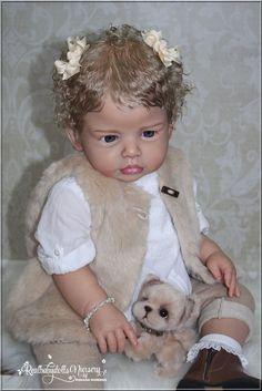 PROTOTYPE - Toddler Girl Lena R. Swialkowski - Reborn Realbabydolls Nursery in Dolls & Bears, Dolls, Reborn | eBay