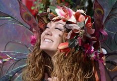 @twigthefairy at the Carolina Renaissance Festival #photography #photo #twig #fairy #fay #fairytail #portrait #portraiture #emotions #happy #candid #face #girl #woman #female #smile #wings #flowers #headband #costume #cosplay #perspective #performance  #colorful #beautiful #light #magic #dof #hdr #nikon