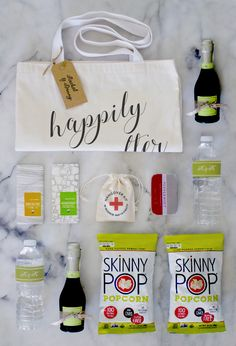 Wedding Planning Make sure your wedding gift bag satisfies all your guests' cravings. - SkinnyPop popcorn is non-GMO, gluten-free, vegan, and guilt-free. Learn more about our healthy selection of flavored and classic popcorn snacks. Wedding Guest Bags, Wedding Gifts For Guests, Our Wedding, Wedding Tips, Dream Wedding, Hotel Wedding, Wedding Wishes, Party Wedding, Wedding Stuff