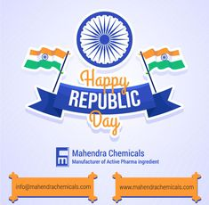 Wishing you all a very Happy Republic Day 2021! The day signifies the right spirit of Independent and individual India. Wishing you Freedom in the mind, Strength in words, Pride in souls and Zeal in hearts. www.mahendrachemicals.com #RepublicDay2021 #26january2021 #72RepublicDay #RepublicDay #HappyRepublicDay Republic Day, Drugs, Wish, Freedom, Pride, Strength, Hearts, Mindfulness, Spirit