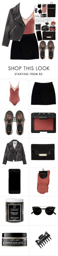 """""""Joy"""" by ritaflagy ❤ liked on Polyvore featuring Topshop, Loeffler Randall, ASOS, NARS Cosmetics, Acne Studios, AERIN, Dolce&Gabbana, Little Barn Apothecary, Eos and Earth's Nectar"""