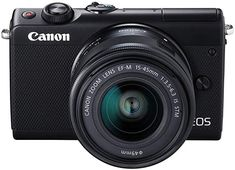 Shop Canon EOS Mirrorless Camera with EF-M IS STM Zoom Lens Black at Best Buy. Find low everyday prices and buy online for delivery or in-store pick-up. Camera Digital Canon, Pen Camera, Focus Camera, Camera Shop, Digital Slr, Canon Eos, Bluetooth, Wi Fi, Dslr Or Mirrorless