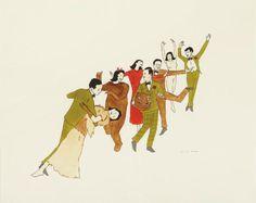 Seven Works: Untitled, 1997-2003 by Marcel Dzama