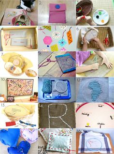 Montessori 3-6, 6-9 Practical Life: sewing