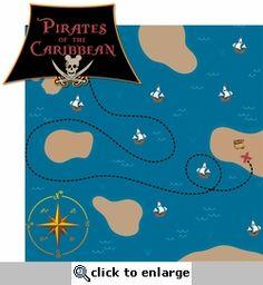Adventure Land: Pirate Adventure 2 Piece Laser Die Cut Kit