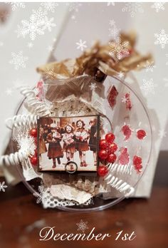 Calendar 2018, Snow Globes, Advent Calendar, December, Table Decorations, Home Decor, Decoration Home, Room Decor, Dinner Table Decorations
