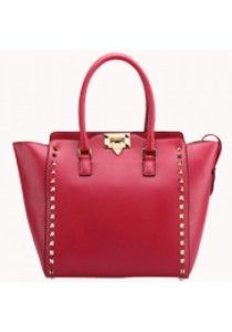PopStar Leather Medium Tote Pink