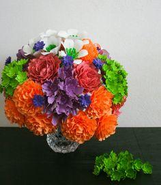 Cherie  Paper Flower Bouquet  Cherie Collection by MaisonGregoria