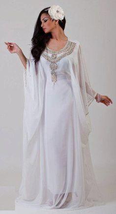 1000 images about vestidos purim on pinterest caftans for White kaftan wedding dress