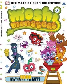 Ultimate Sticker Collection: Moshi Monsters (ULTIMATE STICKER COLLECTIONS) by DK Publishing